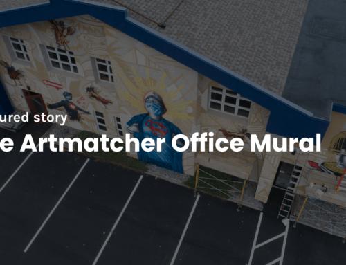 The Artmatcher Office Mural
